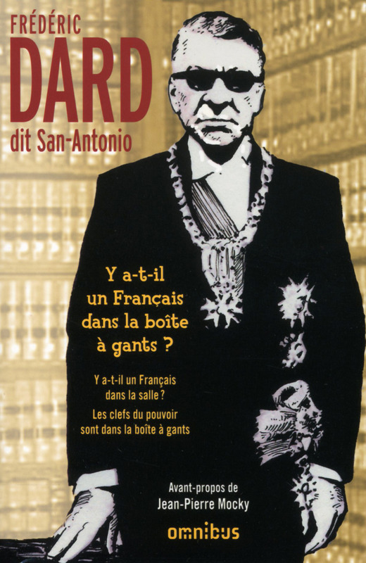 Frédéric Dard, dit San-Antonio, Jean-pierre mocky, omnibus, français, livre
