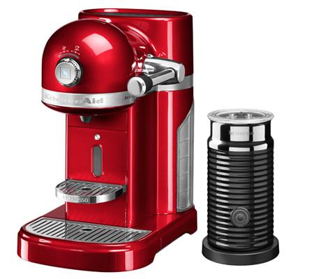 Nespresso KitchenAid et Aeroccino