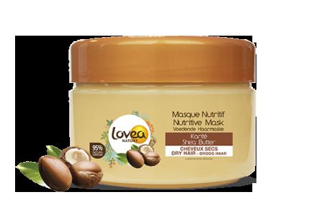 Lovea Nature, masque nutritif