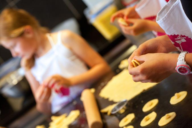 Atelier d'enfants Goûts Yvelines 2014 © Pascal Gréboval CDT78, Immanquables rencontres gastronomiques d'automne en Yvelines !