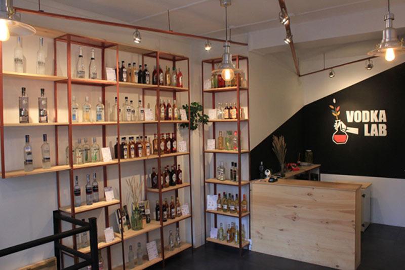 Une cave à vodkas à Paris : une première !