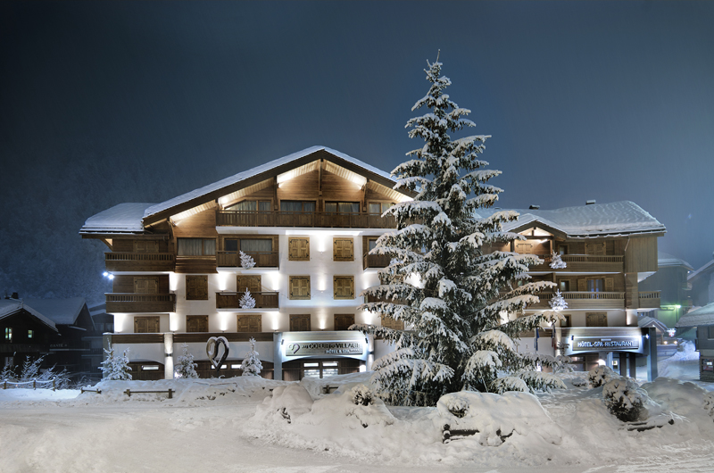 Alpes La Clusaz hotel Coeur de village, Alpes : belles adresses, stations-villages et balades insolites