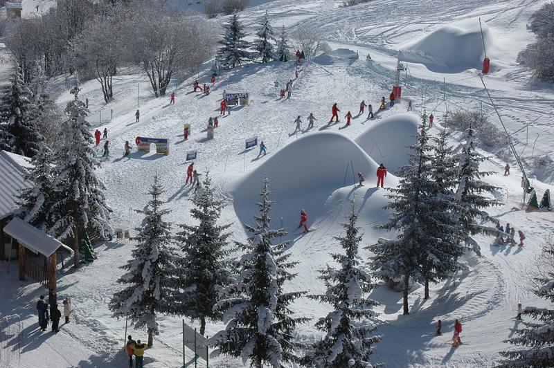 Alpes Sybelles. Le jardin d'enfants, Alpes : belles adresses, stations-villages et balades insolites
