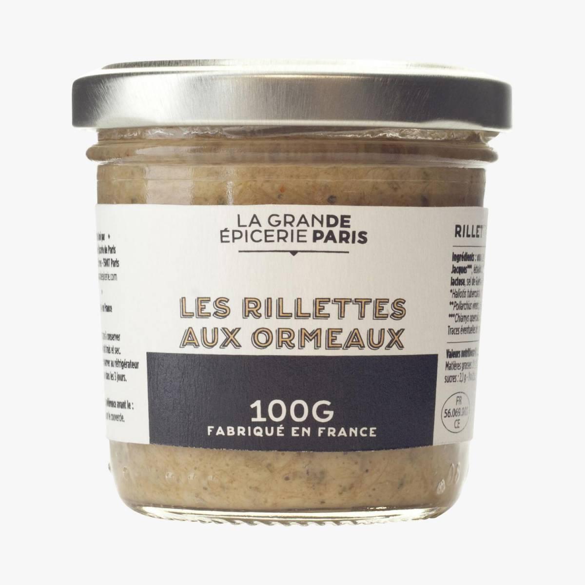 Nouveau : la marque La Grande épicerie de Paris. Ici les rillettes d'Ormeaux !, Saint-Valentin. J-10 pour vous (re)mettre la corde au cou !