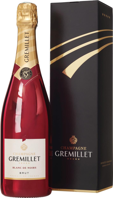 Champagne Gremillet dans une bouteille rouge flamboyant, Saint-Valentin. J-10 pour vous (re)mettre la corde au cou !