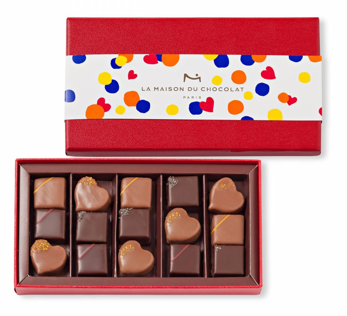 Le coffret Pop de La Maison du Chocolat pour la Saint-Valentin, Saint-Valentin. J-10 pour vous (re)mettre la corde au cou !