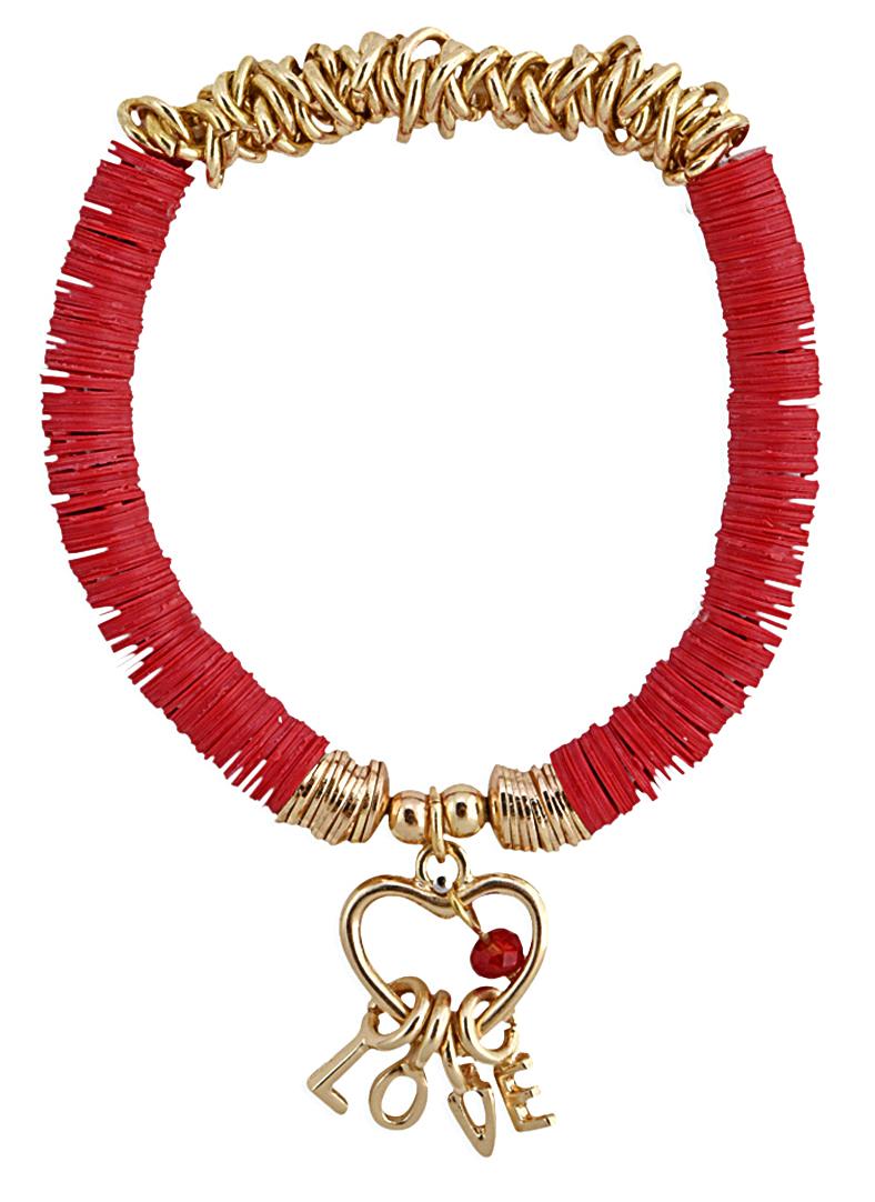 Bracelet Love de Fashion Victime,Saint-Valentin. J-10 pour vous (re)mettre la corde au cou !