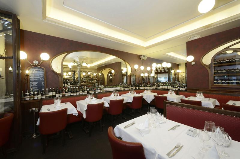 """La salle accueillante et confortable du Petit Sommelier / Paris, """"Le Petit Sommelier"""" est devenu grand !"""