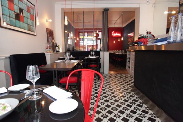 Ida, entrée du restaurant - Paris 15 ©Maria Spera, Chaud patate ! avec Christophe Michalak et Denny Imbroisi
