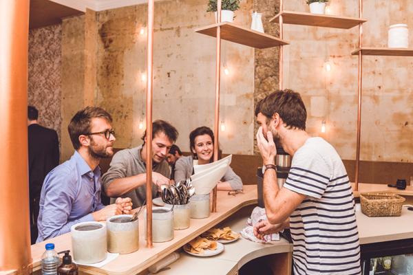 Nous, cocktails au bar…, Une chouette adresse Veggie et sans gluten à Paris : NOUS !