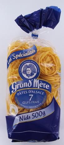 """Pâtes françaises Grand Mère, Large tour d'horizon sur les nouvelles """"choses qui se mangent"""""""