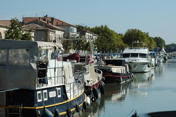 La marina de Beaucaire © Judith Lossmann