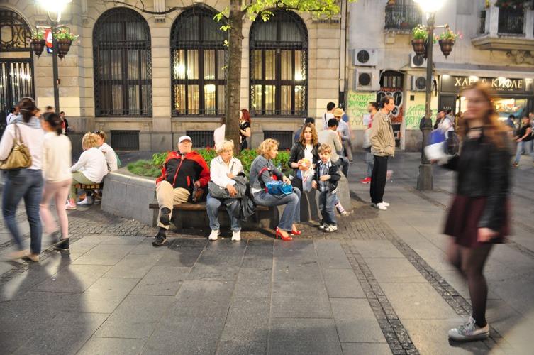 Activités shopping dans la rue principale. ©Judith Lossmann