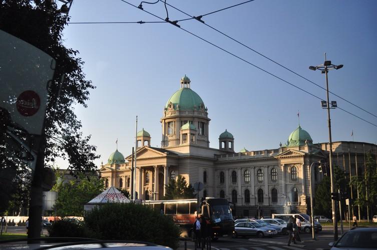 La beauté des bâtiments de Belgrade… ©Judith Lossmann