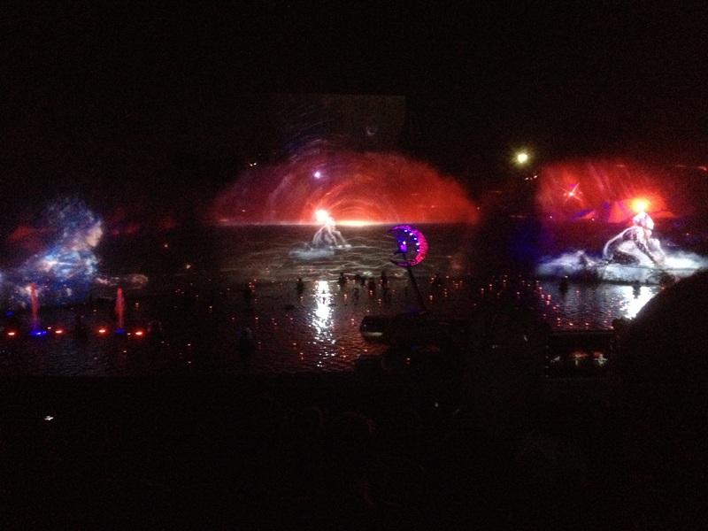 Vienne. Spectacle nocturne du Futuroscope. ©Judith Lossmann