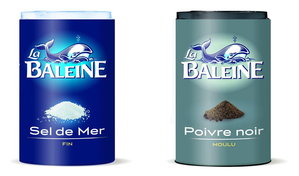 La Baleine - Duo sel de mer et poivre noir