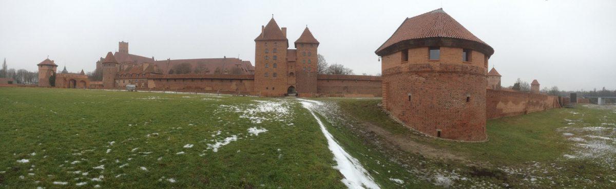 Il était une fois, la Forteresse de Malbork la monumentale