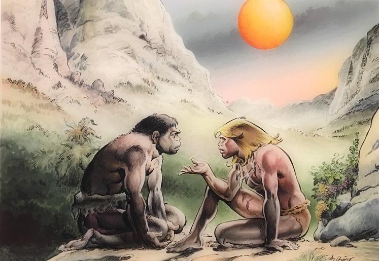 Le Musée de l'Homme reçoit Néandertal