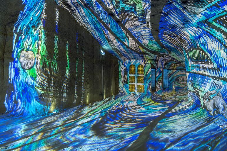 Les Caves Monmousseau en lumière!