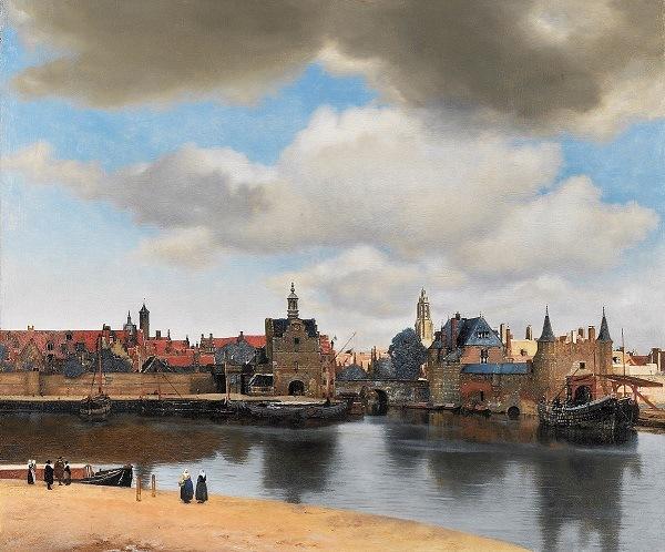delft vermeer peinture2