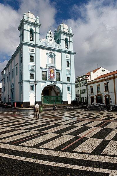Portugal, Açores, Terceira, San Miguel, Angra do Heroismo