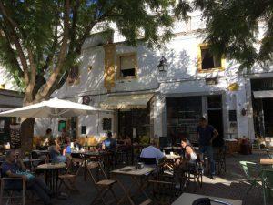 Portugal, Alentejo, Evora, café,