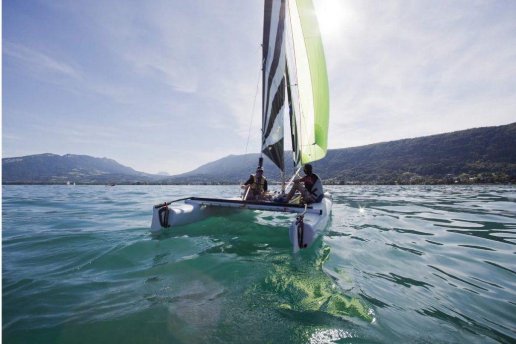 Savoie, Lacs de Savoie, lac d'Annecy, voile