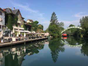 Savoie, Chanaz, canal de Savière