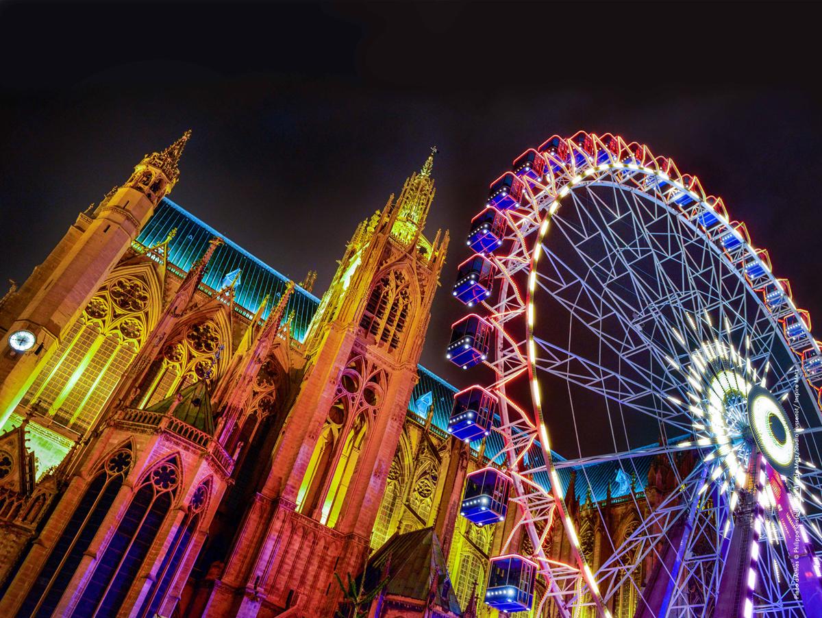 Une fin d'année en couleurs à Metz