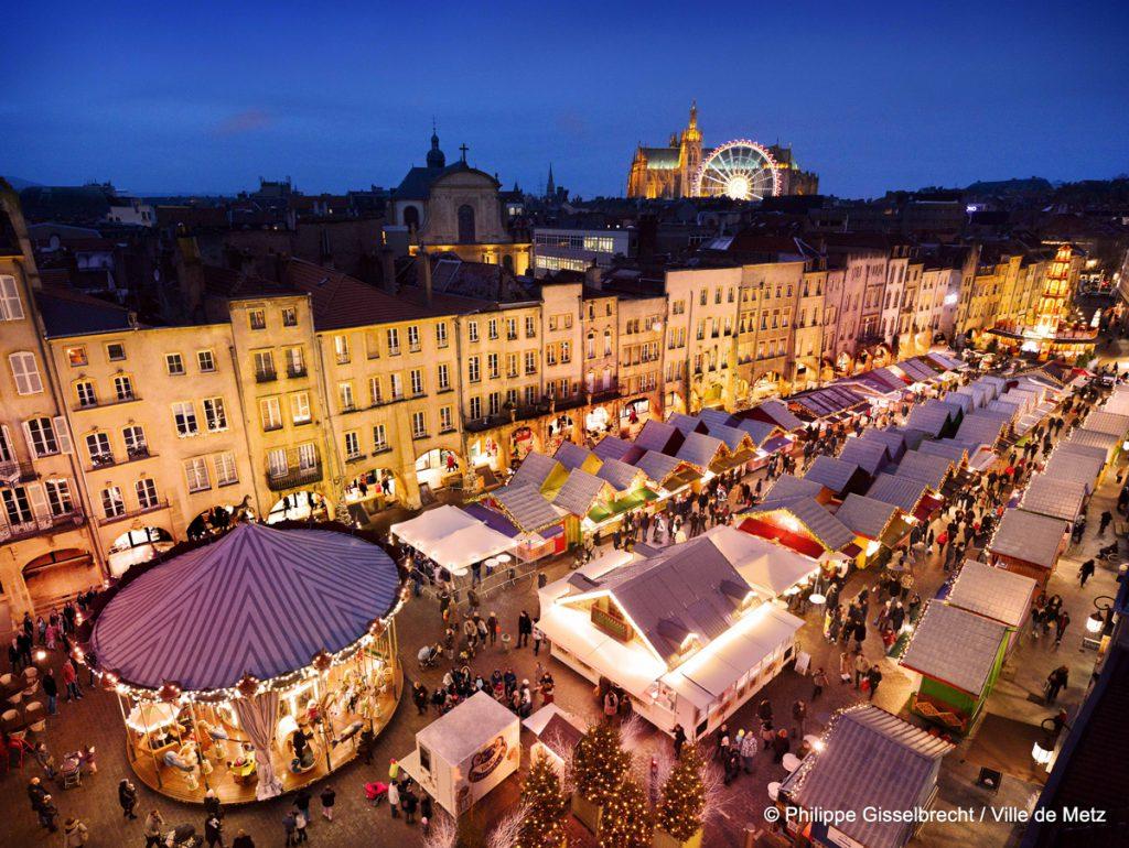 Les marchés de Noël à Metz
