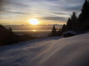 Jura, neige, station, ski, raquette