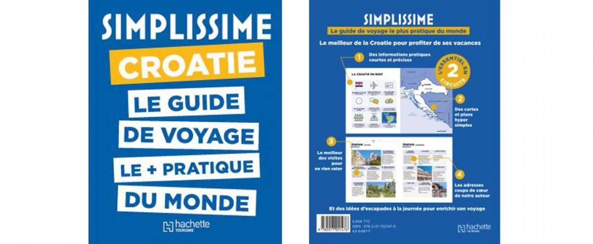 La Croatie vue par le guide Simplissime chez Hachette
