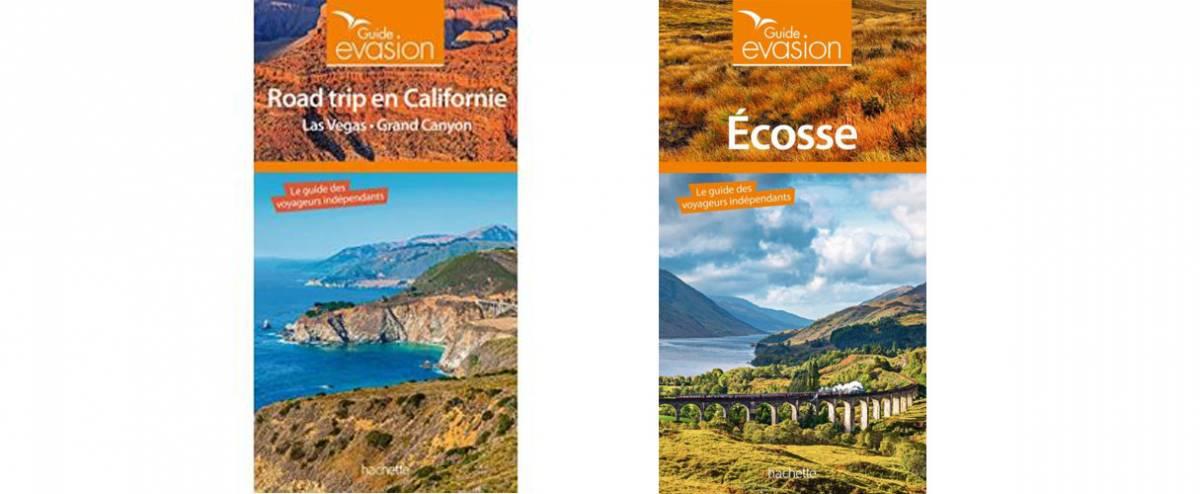 Californie et Écosse passées au crible des guides Evasion/Hachette