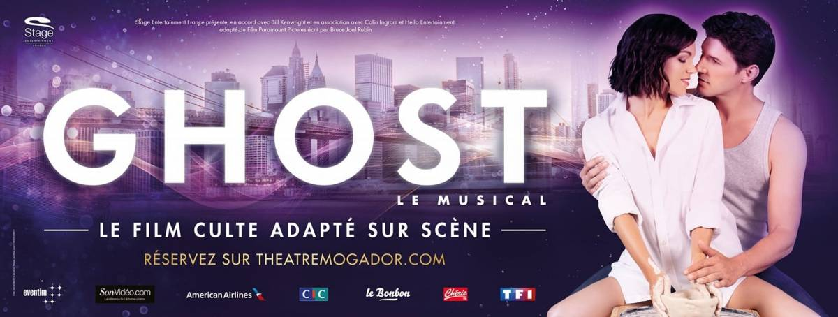 Ghost le musical cartonne à Mogador Paris