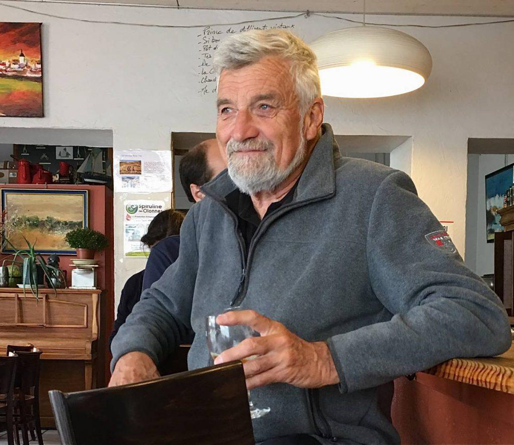 Les sables d'Olonne, La Chaume adopte Jean-Luc Van Den heede