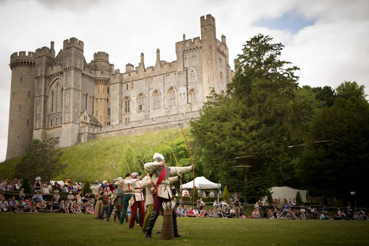 Arundel Castle : ma vie de château !