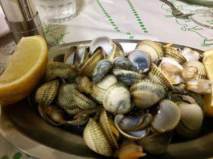 gastronomie à St Jacques de Compostelle