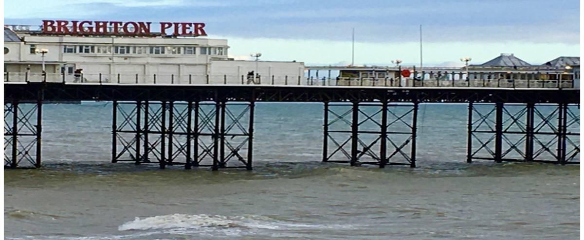 Brighton Palace Pier, le père de tous les piers !