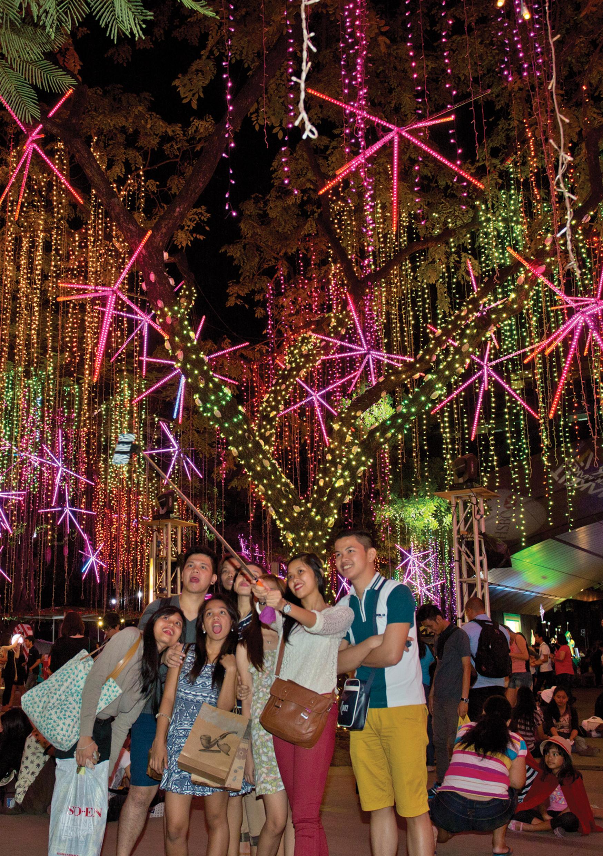 Les Philippines partagent leur joie à fêter Noël en Europe