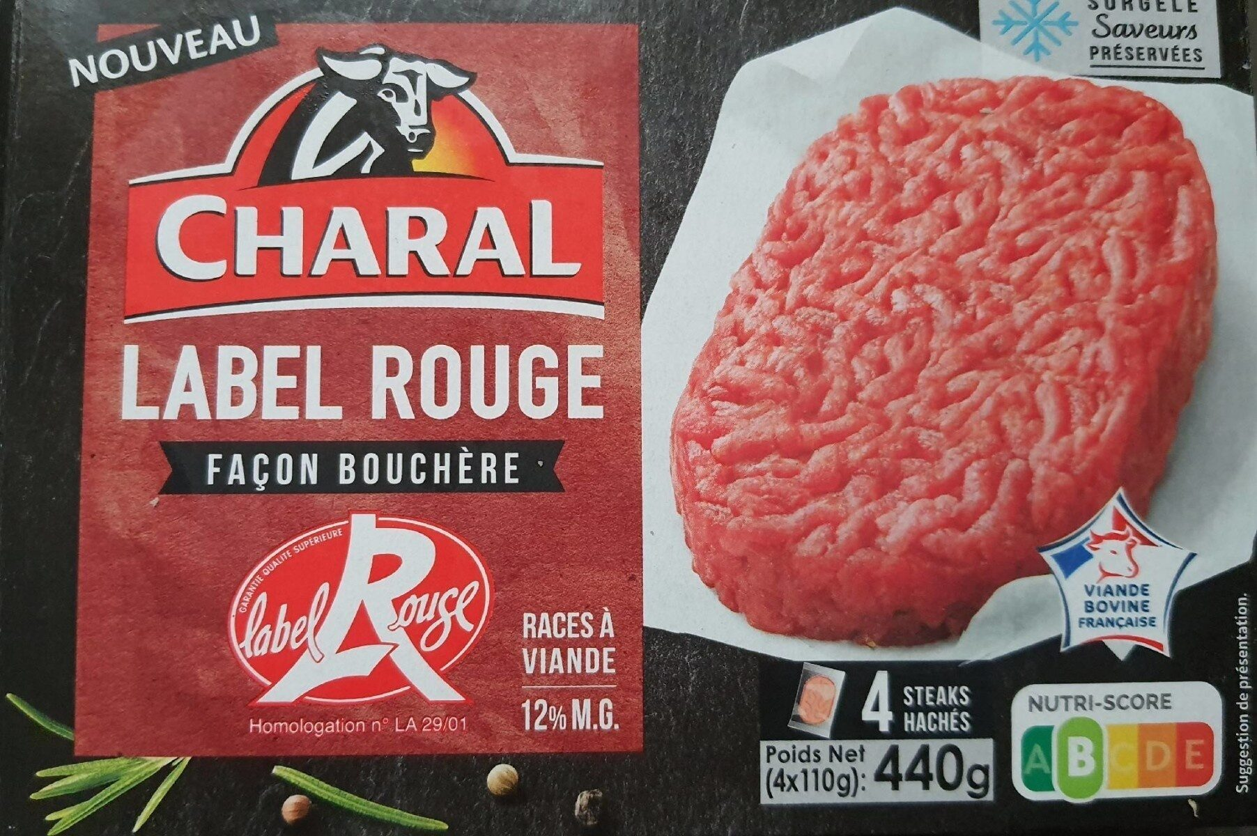 Charal label rouge