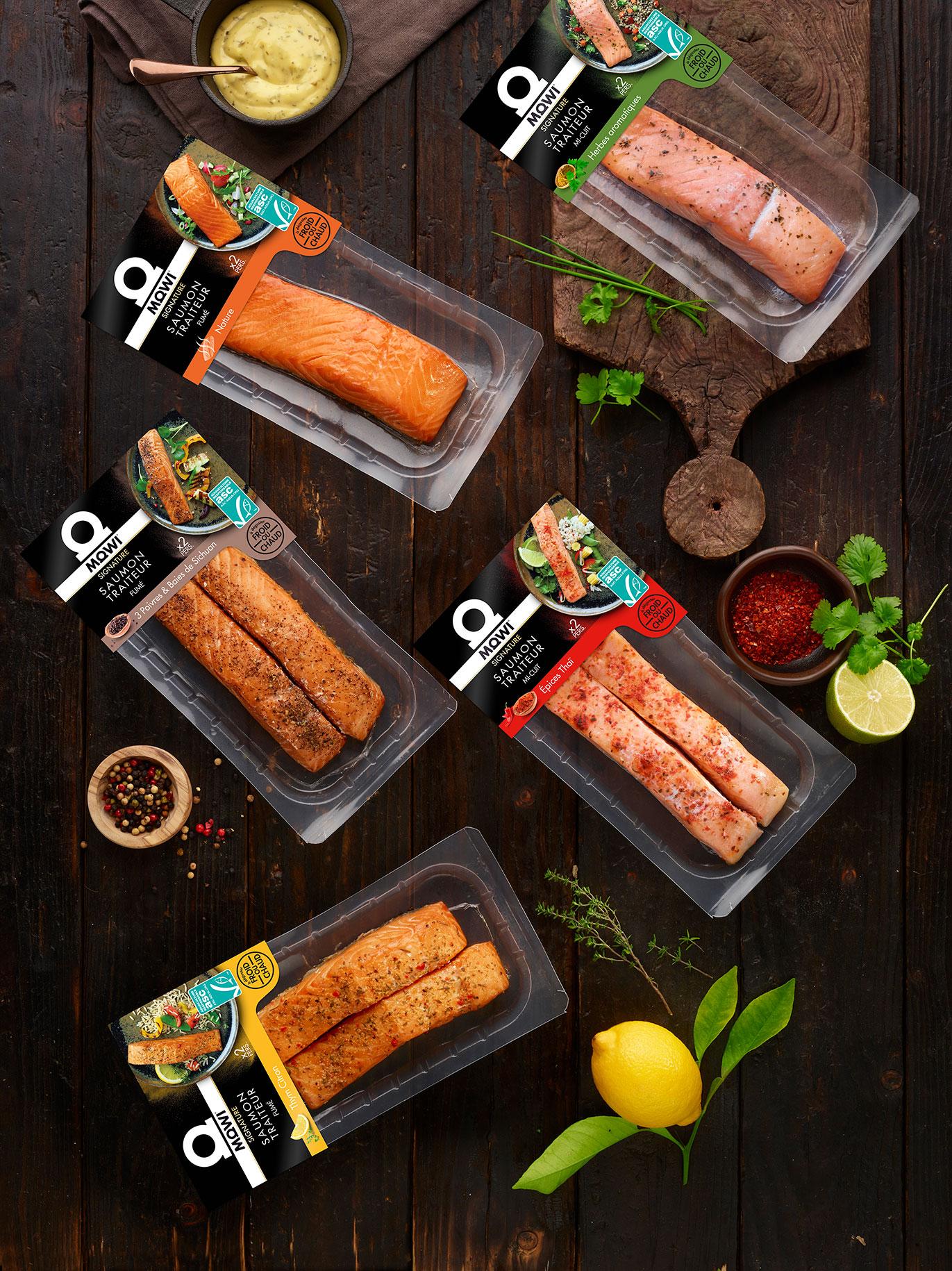 Mowi, l'expert du saumon traiteur bien élevé