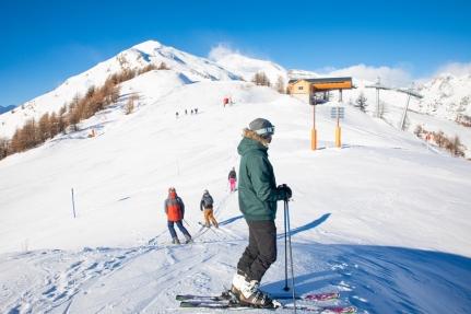 La neige en avant-première à Puy Saint Vincent